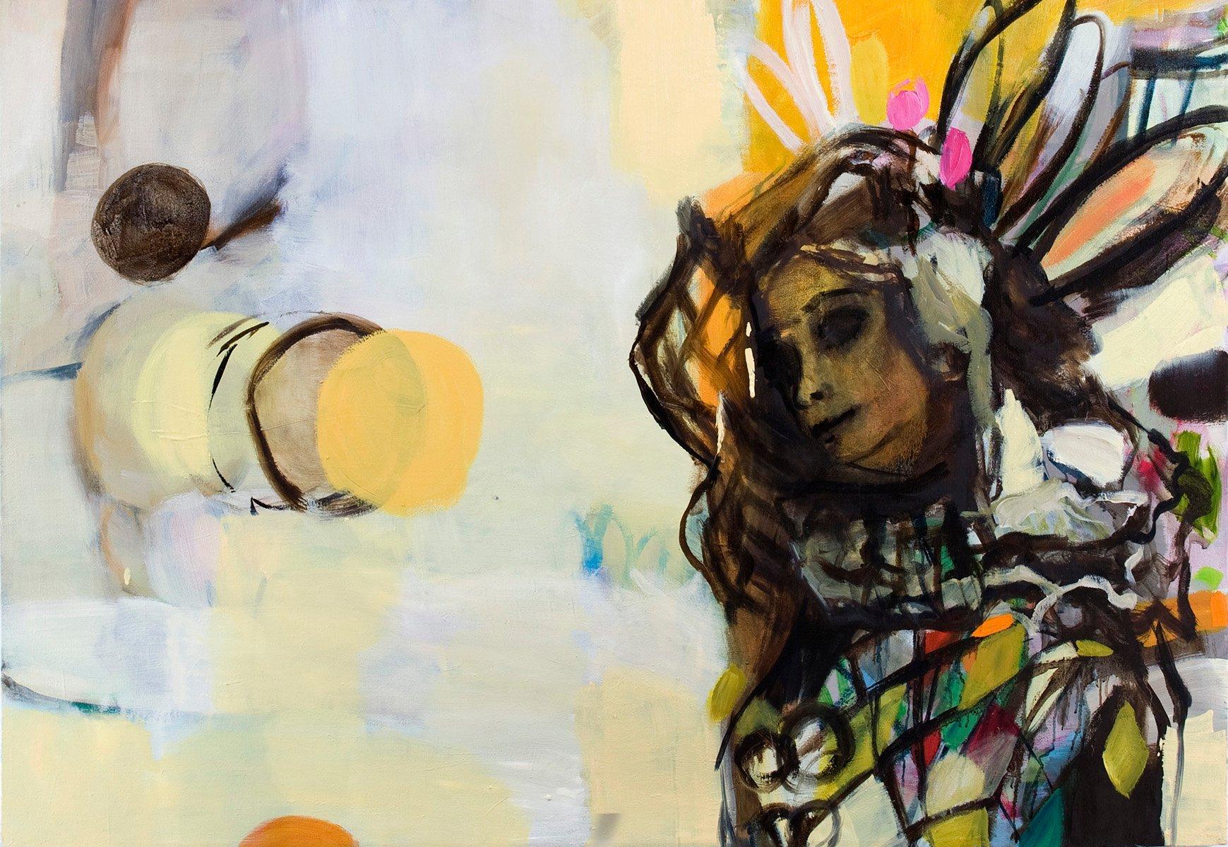 Yksityiskohta taidemaalari Fanny Tavastilan teoksesta.