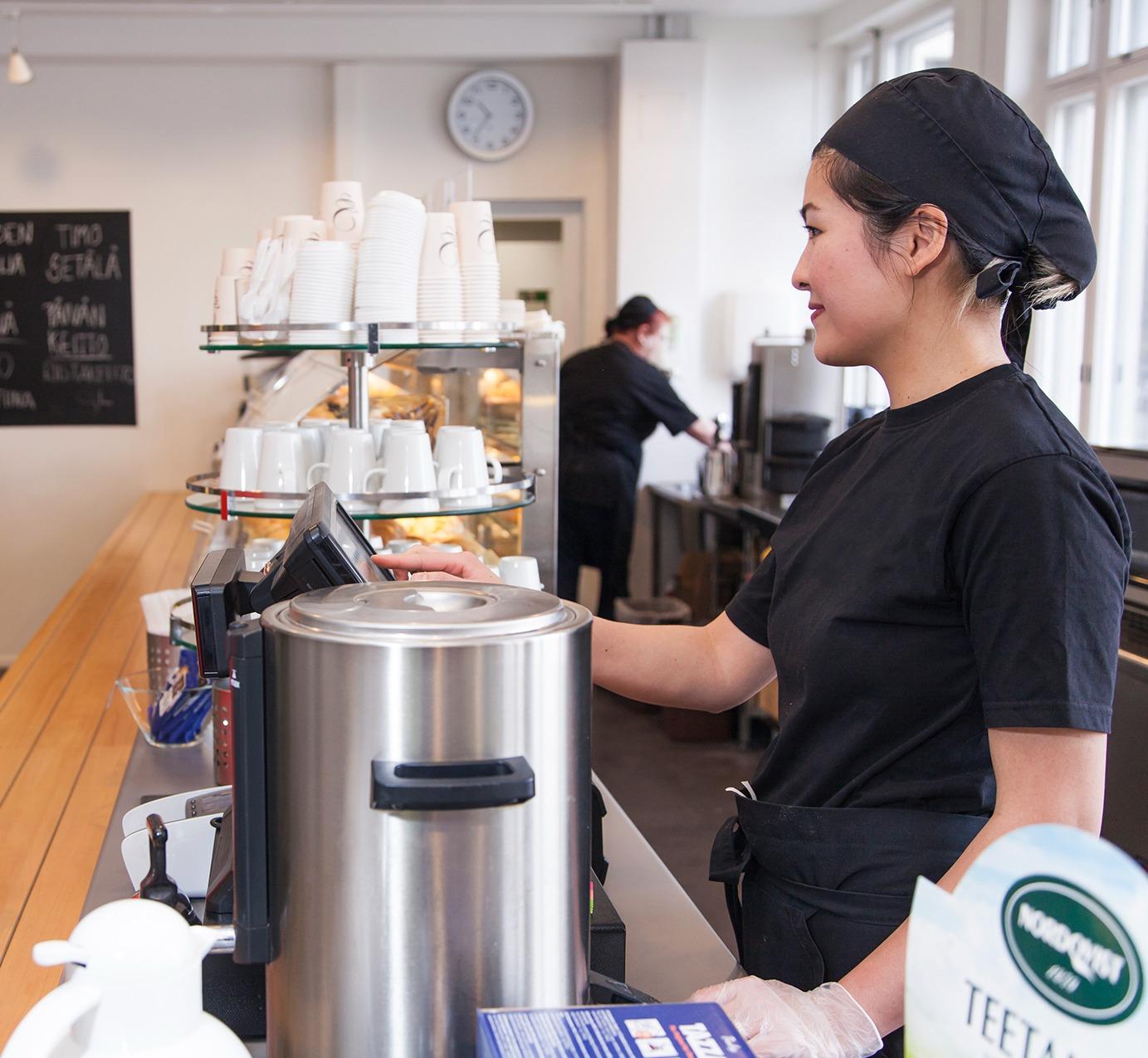 Kahvilapalvelujen työelämäympäristö-1
