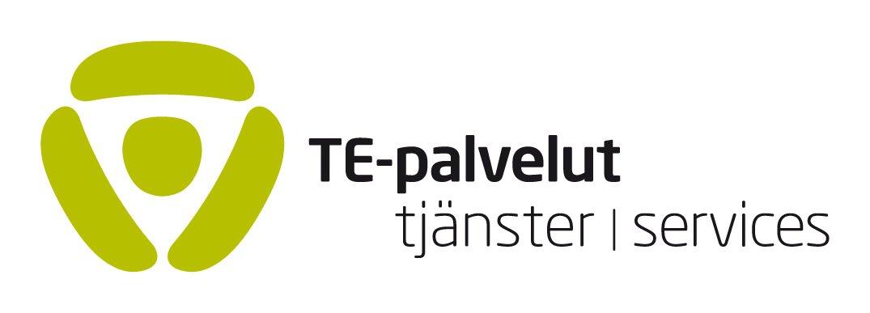 TE-palveluiden logo.